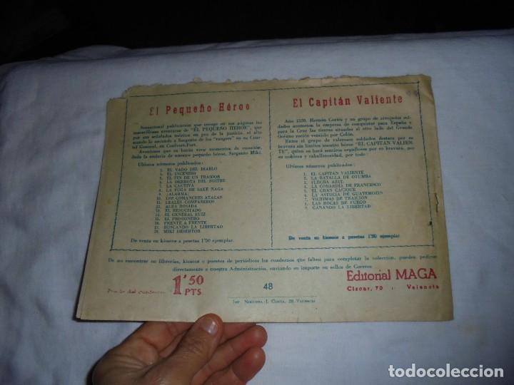 Tebeos: EL DEFENSOR DE LA CRUZ Nº 48.EN AFRO LOTO - Foto 5 - 126747987