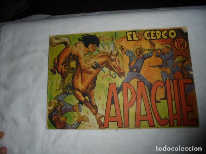 APACHE Nº 10.-EL CERCO (Tebeos y Comics - Maga - Apache)