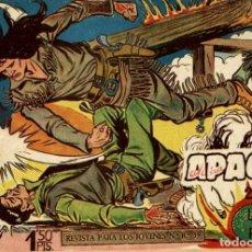 Tebeos: APACHE (2 PARTE)-4 (MAGA, 1960) DE CLAUDIO TINOCO. Lote 126997499