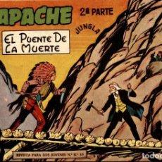 Tebeos: APACHE (2 PARTE)-10 (MAGA, 1960) DE CLAUDIO TINOCO. Lote 126997723
