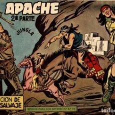 Tebeos: APACHE (2 PARTE)-11 (MAGA, 1960) DE CLAUDIO TINOCO. Lote 126997791