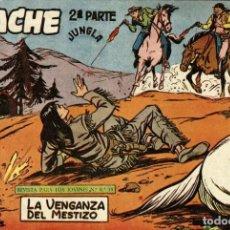 Tebeos: APACHE (2 PARTE)-16 (MAGA, 1960) DE CLAUDIO TINOCO. Lote 126997875