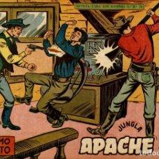 Tebeos: APACHE (2 PARTE)-17 (MAGA, 1960) DE CLAUDIO TINOCO. Lote 126997911