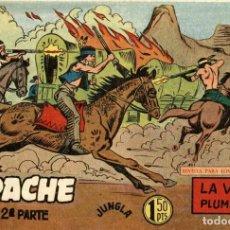 Tebeos: APACHE (2 PARTE)-20 (MAGA, 1960) DE CLAUDIO TINOCO. Lote 126997987