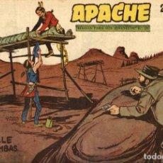 Tebeos: APACHE (2 PARTE)-22 (MAGA, 1960) DE CLAUDIO TINOCO. Lote 126998039