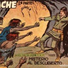Tebeos: APACHE (2 PARTE)-39 (MAGA, 1960) DE CLAUDIO TINOCO. Lote 126998091
