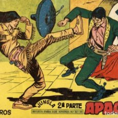Tebeos: APACHE (2 PARTE)-48 (MAGA, 1960) DE CLAUDIO TINOCO. Lote 126998207
