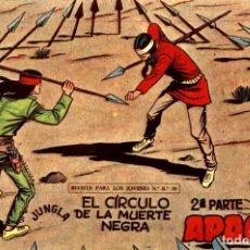 Tebeos: APACHE (2 PARTE)-55 (MAGA, 1960) DE CLAUDIO TINOCO. Lote 126998259