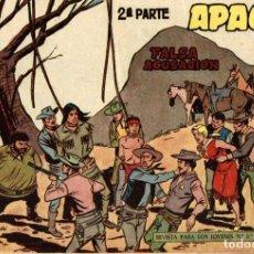 Tebeos: APACHE (2 PARTE)-57 (MAGA, 1960) DE CLAUDIO TINOCO. Lote 126998323