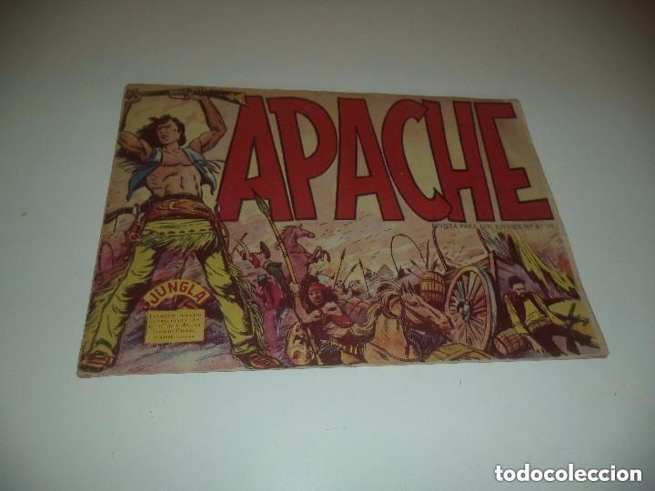 APACHE, AÑO 1.956, Nº 1. ORIGINAL. DIBUJANTE L. BERMEJO. ESTADO NUEVO VER LAS FOTOS (Tebeos y Comics - Maga - Apache)