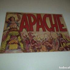 Tebeos: APACHE, AÑO 1.956, Nº 1. ORIGINAL. DIBUJANTE L. BERMEJO. ESTADO NUEVO VER LAS FOTOS. Lote 127036139