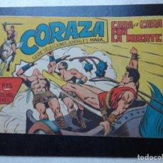 Tebeos: CORAZA Nº 25 EDITORIAL MAGA ORIGINAL 1962 . Lote 127759999