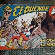 Tebeos: EL DUENDE Nº 11 - ORIGINAL EDT. MAGA 1961 (M 4 ). Lote 128459547