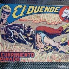 Tebeos: EL DUENDE Nº 22 - ORIGINAL EDT. MAGA 1961 (M 4 ). Lote 128466639