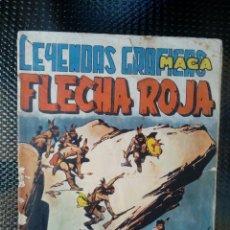 Tebeos: FLECHA ROJA Nº 41 - EDT. MAGA (M 4 ). Lote 128545759