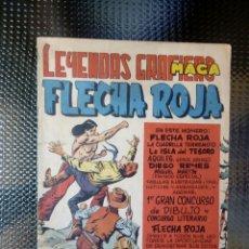Tebeos: FLECHA ROJA Nº 26 - EDT. MAGA (M 4 ). Lote 128546487