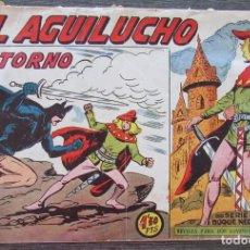 Tebeos: EL AGUILUCHO Nº 68 EL RETORNO. ORIGINAL DE 1959. EDITORIAL MAGA. NÚMERO FINAL DE LA COLECCIÓN. Lote 128548171