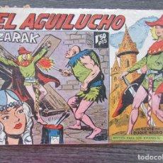 Tebeos: EL AGUILUCHO Nº 67 ZARAK. ORIGINAL DE 1959. EDITORIAL MAGA. . Lote 128548291