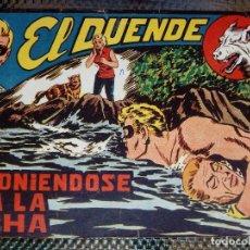 Tebeos: EL DUENDE Nº 34 - ORIGINAL EDT. MAGA 1961 (M 4 ). Lote 128549619