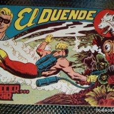 Tebeos: EL DUENDE Nº 59- ORIGINAL EDT. MAGA 1961 (M 4 ). Lote 128562899
