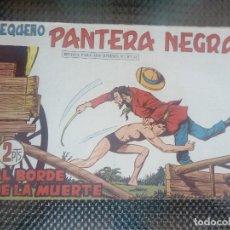 BDs: PEQUEÑO PANTERA NEGRA Nº 295 - ORIGINAL EDT.MAGA 1958 (M -5). Lote 128648603