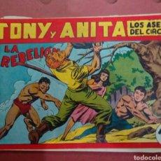 Tebeos: CÓMIC ANTIGUO TONY Y ANITA. Lote 130637796