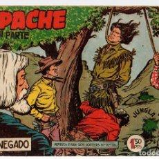Tebeos: APACHE. 2ª PARTE. EL RENEGADO. Nº 3. MAGA. ORIGINAL. Lote 131237800