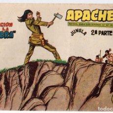 Tebeos: APACHE. 2ª PARTE. LA TRAICION DE LA SOMBRA. Nº 70. MAGA. ORIGINAL. Lote 131238040