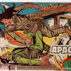 Tebeos: APACHE. 2ª PARTE. LUCHA ENTRE EL FUEGO. Nº 4. MAGA. ORIGINAL. Lote 131238123