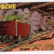 Tebeos: APACHE. 2ª PARTE. DESAFIO A LA MUERTE. Nº 65. MAGA. ORIGINAL. Lote 131238530