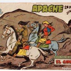 Tebeos: APACHE. 2ª PARTE. EL GANADOR. Nº 64. MAGA. ORIGINAL. Lote 131238659