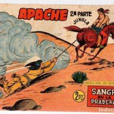Tebeos: APACHE. 2ª PARTE. SANGRE EN LA PRADERA. Nº 73. MAGA. ORIGINAL. Lote 131238775