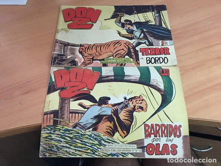 Tebeos: DON Z COLECCION COMPLETA A FALTA DE LOS Nº 81 Y 88 (ORIGINAL ED. MAGA) (COIM9) - Foto 6 - 131302259
