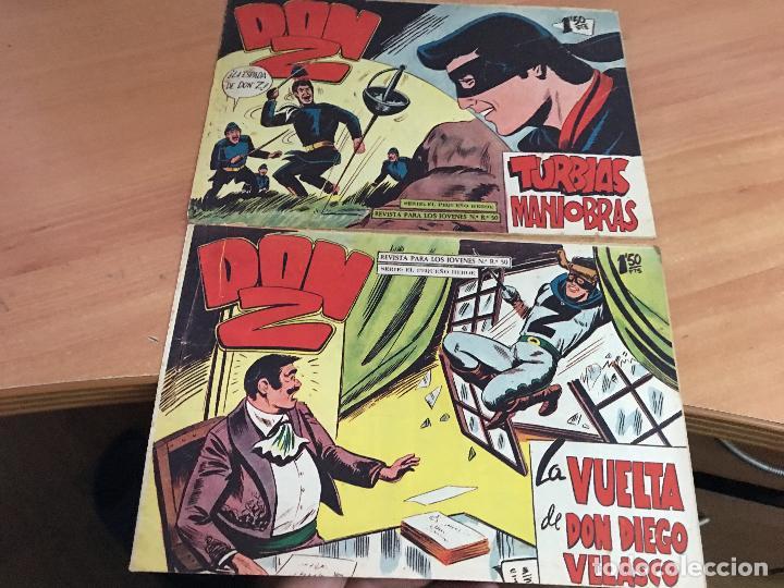 Tebeos: DON Z COLECCION COMPLETA A FALTA DE LOS Nº 81 Y 88 (ORIGINAL ED. MAGA) (COIM9) - Foto 14 - 131302259