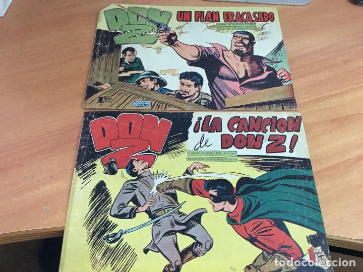 Tebeos: DON Z COLECCION COMPLETA A FALTA DE LOS Nº 81 Y 88 (ORIGINAL ED. MAGA) (COIM9) - Foto 26 - 131302259