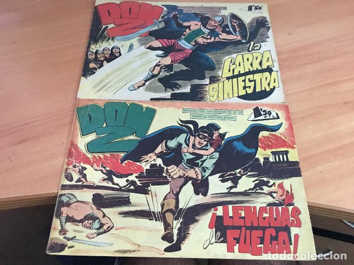 Tebeos: DON Z COLECCION COMPLETA A FALTA DE LOS Nº 81 Y 88 (ORIGINAL ED. MAGA) (COIM9) - Foto 31 - 131302259