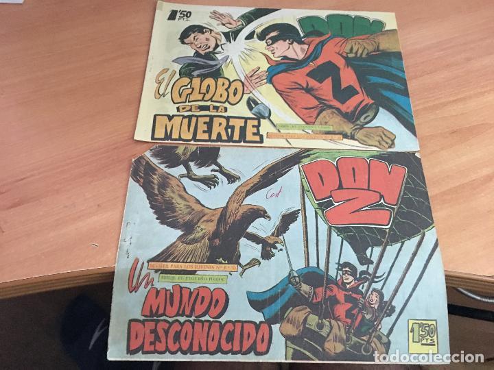 Tebeos: DON Z COLECCION COMPLETA A FALTA DE LOS Nº 81 Y 88 (ORIGINAL ED. MAGA) (COIM9) - Foto 34 - 131302259