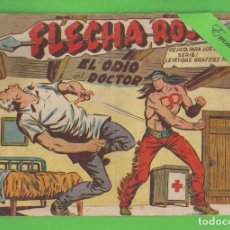 Tebeos: FLECHA ROJA - Nº 16 - EL ODIO DEL DOCTOR - (1962) - MAGA.. Lote 131529150