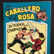 Tebeos: EL CABALLERO DE LA ROSA Nº 7. MAGA 1957. ULTIMO DE LA COLECCIÓN.. Lote 131566606