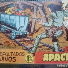 Tebeos: APACHE Nº 2 - ORIGINAL- EDT. MAGA 1955 ( M-5). Lote 131724454