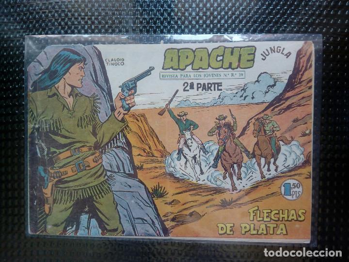APACHE Nº 37 - ORIGINAL- EDT. MAGA 1955 ( M-5) (Tebeos y Comics - Maga - Apache)