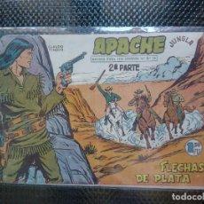 Tebeos: APACHE Nº 37 - ORIGINAL- EDT. MAGA 1955 ( M-5). Lote 131725870