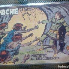 Tebeos: APACHE Nº 39 - ORIGINAL- EDT. MAGA 1955 ( M-5). Lote 131726438