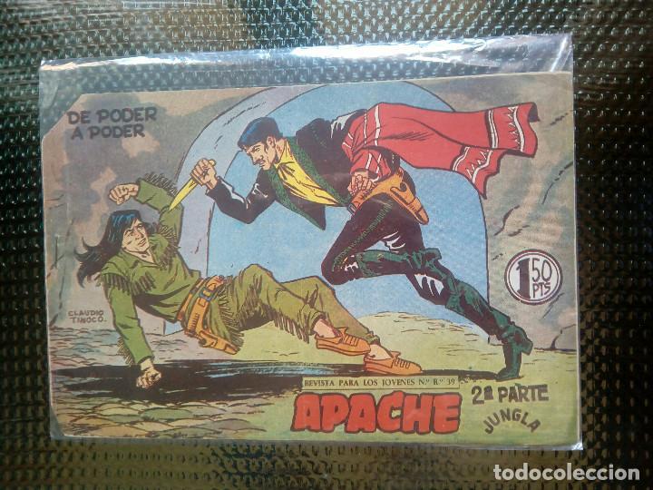 APACHE Nº 47 - ORIGINAL- EDT. MAGA 1955 ( M-5) (Tebeos y Comics - Maga - Apache)