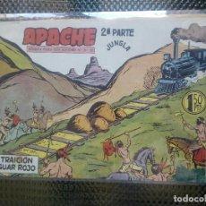 Tebeos: APACHE Nº 51 - ORIGINAL- EDT. MAGA 1955 ( M-5). Lote 131728282