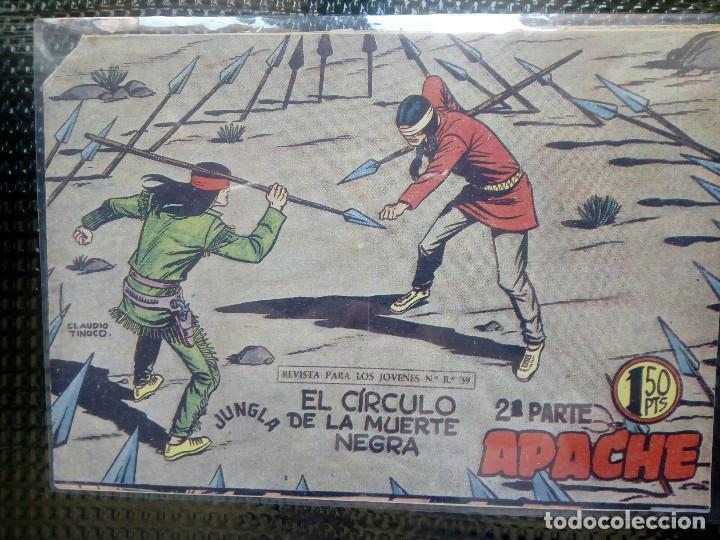 APACHE Nº 55 - ORIGINAL- EDT. MAGA 1955 ( M-5) (Tebeos y Comics - Maga - Apache)