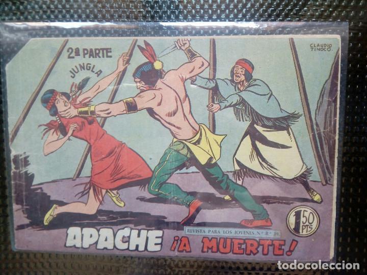 APACHE Nº 56 - ORIGINAL- EDT. MAGA 1955 ( M-5) (Tebeos y Comics - Maga - Apache)