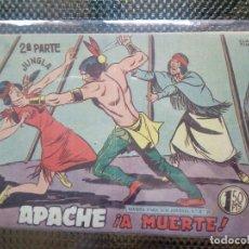 Tebeos: APACHE Nº 56 - ORIGINAL- EDT. MAGA 1955 ( M-5). Lote 131729642