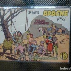 Tebeos: APACHE Nº 57 - ORIGINAL- EDT. MAGA 1955 ( M-5). Lote 131730366