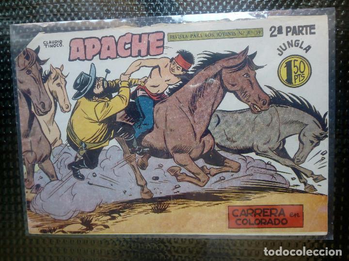 APACHE Nº 62 - ORIGINAL- EDT. MAGA 1955 ( M-5) (Tebeos y Comics - Maga - Apache)